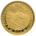 2010 Half Ounce Proof Britannia Gold Coin