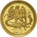 Piedfort 1/4 (1/2) Ounce 2010 Angel Gold Coin