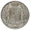 1883 Victoria Silver Half Crown