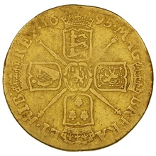 1695 William III Guinea Gold Coin