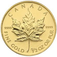 1998 Half Ounce Gold Maple