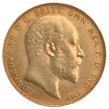 1910 Gold Sovereign - King Edward VII - Canada