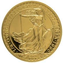 1990 Half Ounce Proof Britannia Gold Coin
