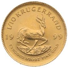 1999 Tenth Ounce Krugerrand