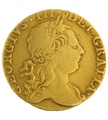 1772 George III Guinea Gold Coin