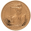 1989 Quarter Ounce Proof Britannia Gold Coin