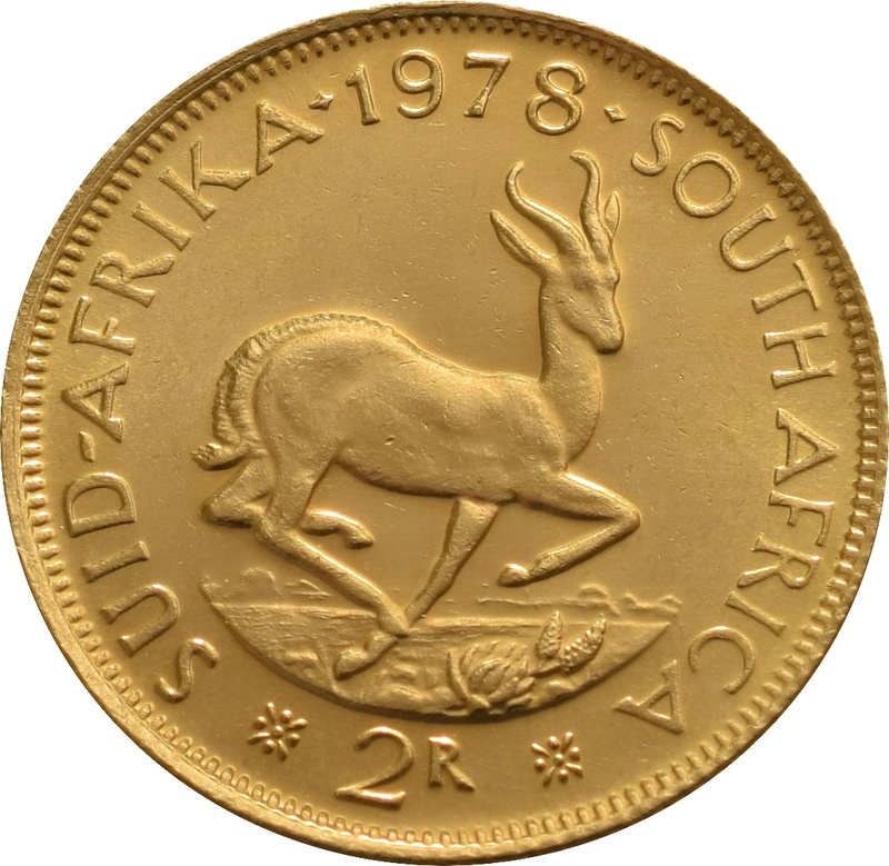 2R 2 Rand coin South Africa