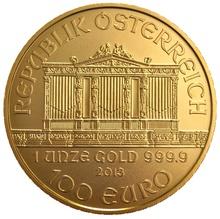 2013 1oz Austrian Gold Philharmonic Coin
