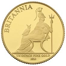 2013 Quarter Ounce Proof Britannia Gold Coin