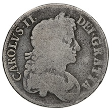 1676 Charles II Silver Crown V OCTAVO