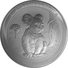 2017 1kg Kilo Silver Australian Koala