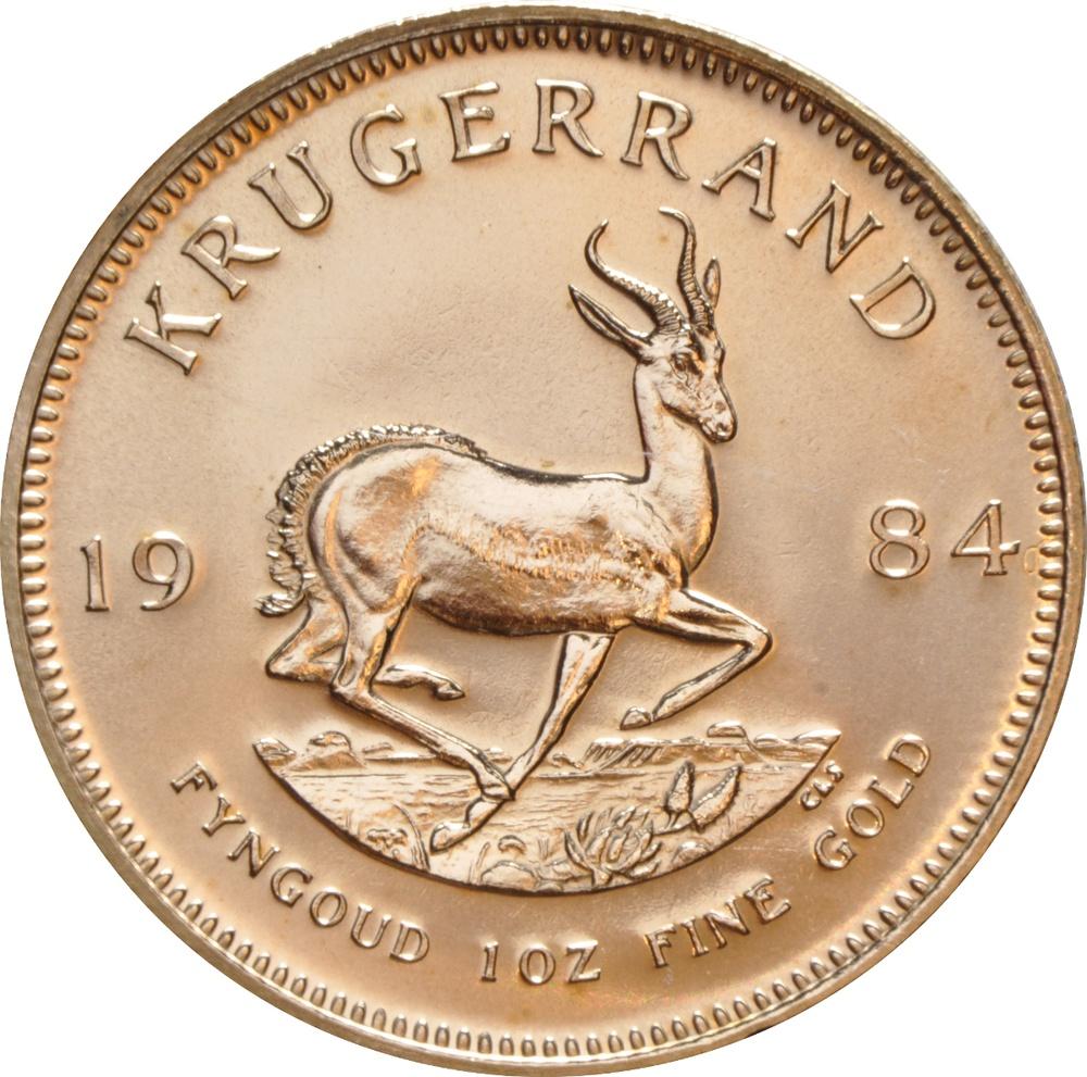 1984 1oz Gold Krugerrand