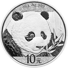 2018 30g Silver Chinese Panda