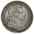 1723 George I Silver Shilling SCC