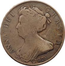 1703 Anne Silver Half Crown (Vigo)