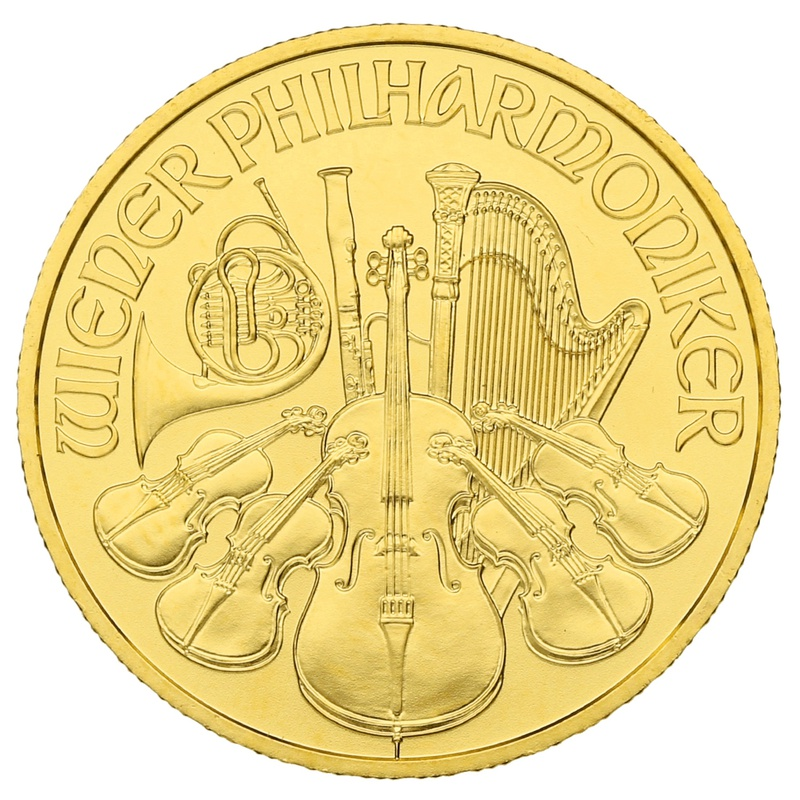 2020 Quarter Ounce Austrian Gold Philharmonic Coin Gift Boxed