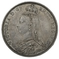 1887 Queen Victoria Silver Milled Crown