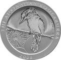 2008 1oz Silver Kookaburra