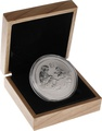 Oak Gift Box - 2oz Silver Coin 56mm (suitable for Perth Mint 2oz Lunar coins)