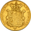 1827 Gold Sovereign - George IV Bare Head
