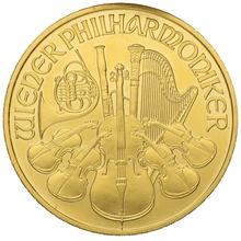 2008 1oz Austrian Gold Philharmonic Coin