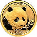 2018 1g Gold Chinese Panda Coin