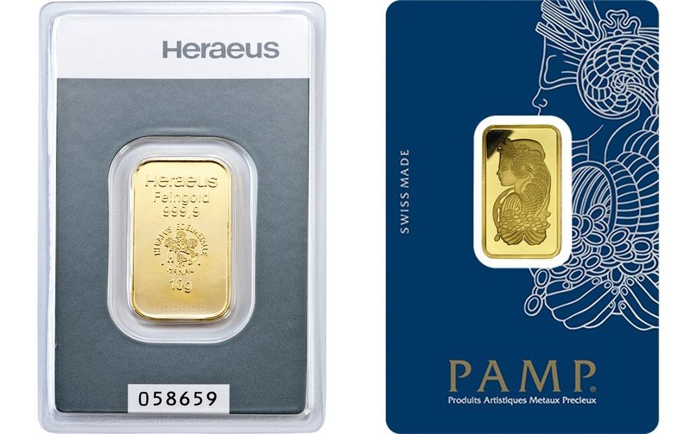 Buy 10g Gold Bar Best Value Bullionbypost From 553 50