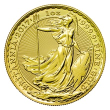2017 1oz Gold Britannia 30th Anniversary Coin