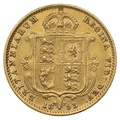 1893 Half Sovereign Victoria Jubilee Head Shield Back - London