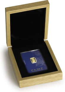 PAMP 5 Gram Gold Bar Gift Boxed