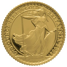2004 Tenth Ounce Proof Britannia Gold Coin