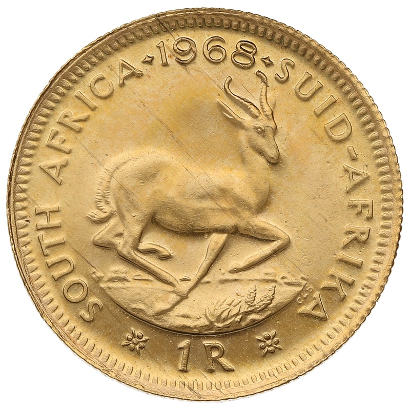 1968 1R 1 Rand coin South Africa