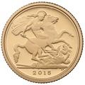 2015 Proof Quarter Sovereign