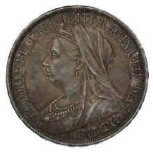 1893 LVI Queen Victoria Silver Crown