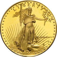 1986 1oz American Eagle Gold Proof Coin MCMLXXXVI