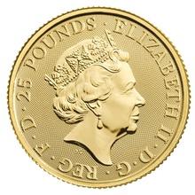 2020 Royal Mint Gold Standard Quarter Ounce 25 coin