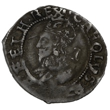 1625-49 Charles I silver Penny mm two pellets