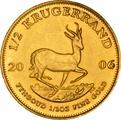 2006 Half Ounce Krugerrand Gold Coin