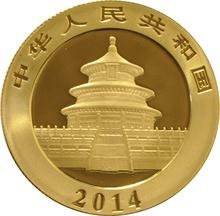 2014 1/2 oz Gold Chinese Panda Coin