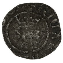 1377-99 Richard II Silver Halfpenny - Good Fine