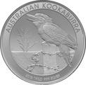 2016 1kg Kilo Silver Kookaburra Coin