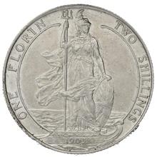 1903 Edward VII Silver Florin