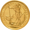 1987 Tenth Ounce Gold Britannia