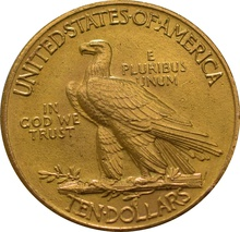 American Gold Eagle $10 Indian Head