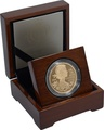 2012 - Gold £5 Proof Crown, The Queen's Diamond Jubilee Boxed