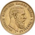 10 Mark German Friedrich III 1888