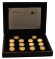 One Pound Coin, 25th Anniversary, Gold Proof Collection Boxed