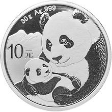 2019 30g Silver Chinese Panda