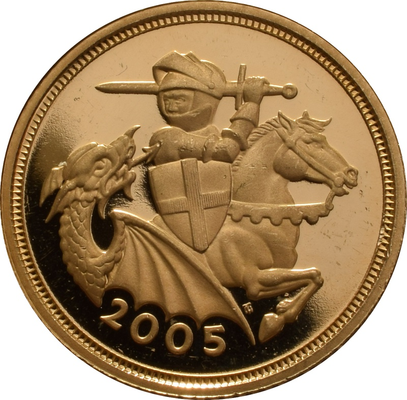 2005 Half Sovereign Gold Coin Proof