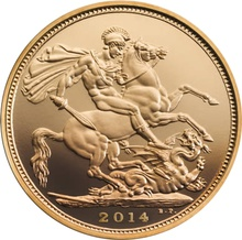 2014 Gold Sovereign - Elizabeth II Fourth Head Proof